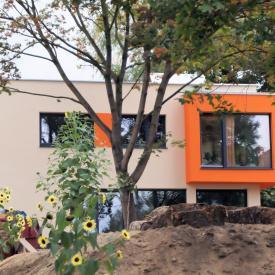 Projekt Anfang 2013: Weru Fenster in Anthrazit