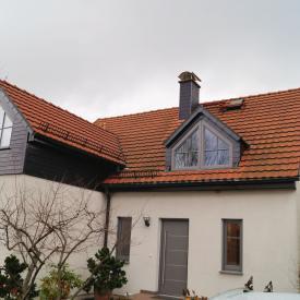 Tausch von Holzfenstern gegen Holz-Aluminium Fenster von PaX, 2017.